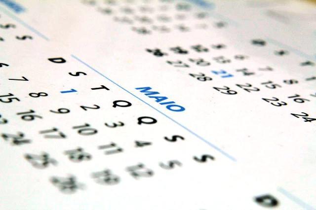 Diário oficial divulga lista de feriados e pontos facultativos para 2018