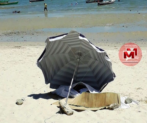 Mulher de 38 anos morre após sofrer mal súbito na praia de Madre de Deus
