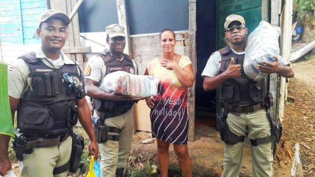 PM promove campanha de doação de alimentos em Madre de Deus